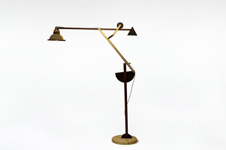 Big Lamp called Crane Lampada Gru Grande