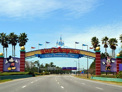 Walt Disney World, Orlando. The most beautiful sight you'll ever see :)