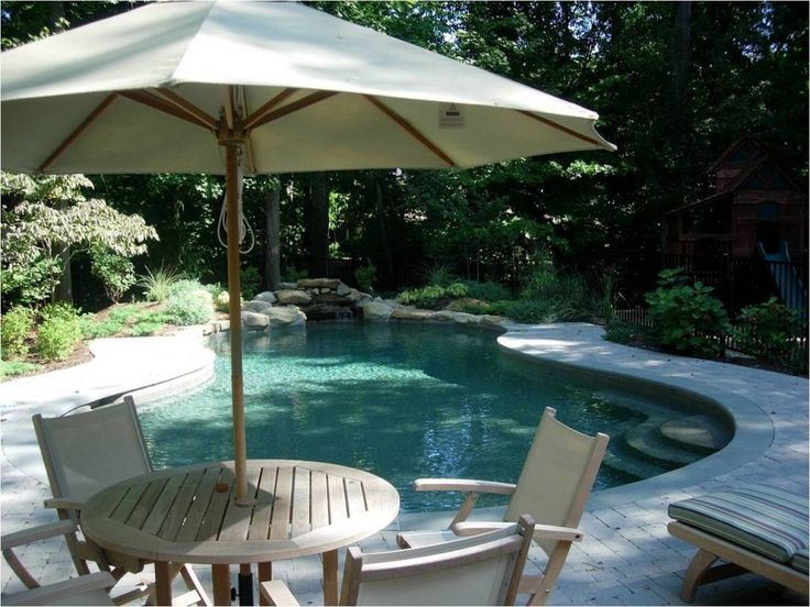 26 best hall home board images on pinterest stone - Pool ideas on a budget ...