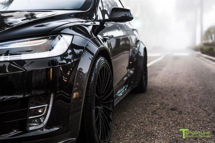 Orange und Schwarz: Lernen Sie T Sportlines Widebody Tesla Model X kennen   – Car