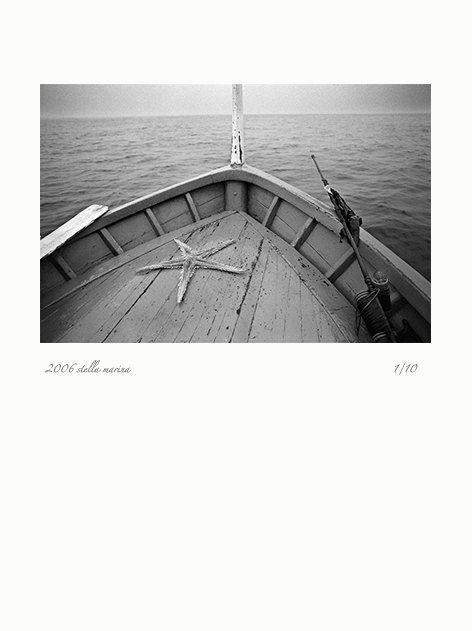 Original photo printing - Fine Art Photography - posters - starfish - boat - sea - 2006 stella marina - Limited Edition 1/10