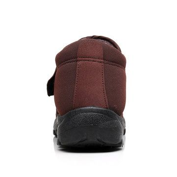 Faux Fur Lining Slip On Low Top Casual Warm Snow Boots For Men - US$27.99