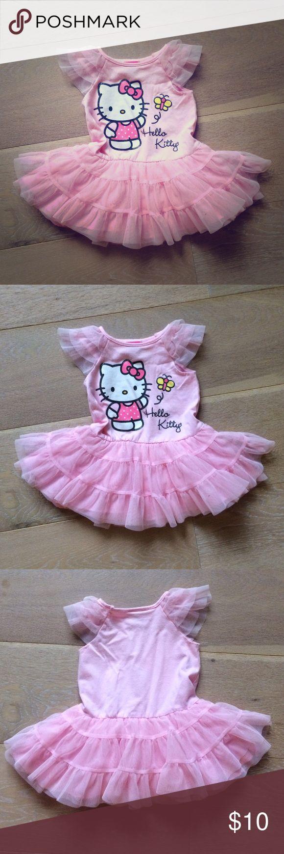 🎉🎉SALE🎉🎉 Hello Kitty tutu dress Fun Hello Kitty tutu dress. 3 layers in the tutu. Great condition! Hello Kitty Dresses