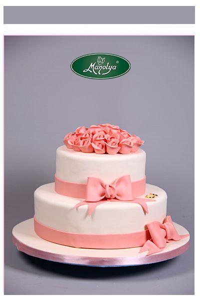 #manolyapastanesi #istanbul #white #pink #cake #cakedesign #celebration