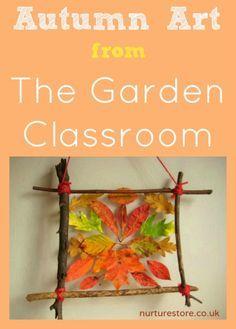 Autumn art from The Garden Classroom