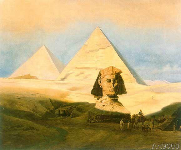 Karl Werner - Pyramiden von Giseh