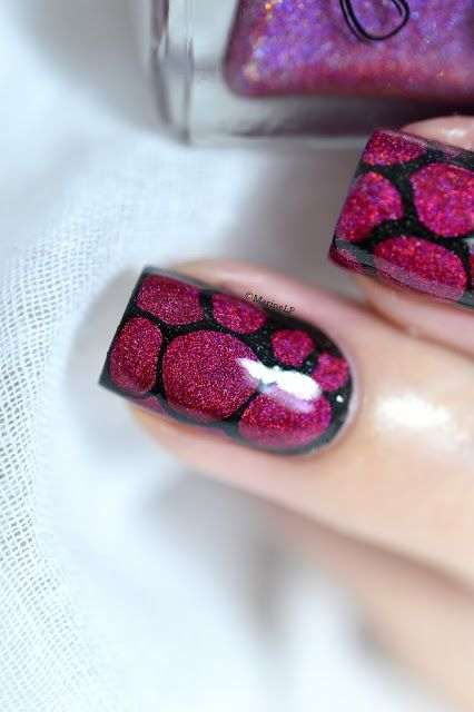 Marine Loves Polish: Nailstorming - Blobbicure [VIDEO TUTORIAL] - easy nail art - ncla redicalist
