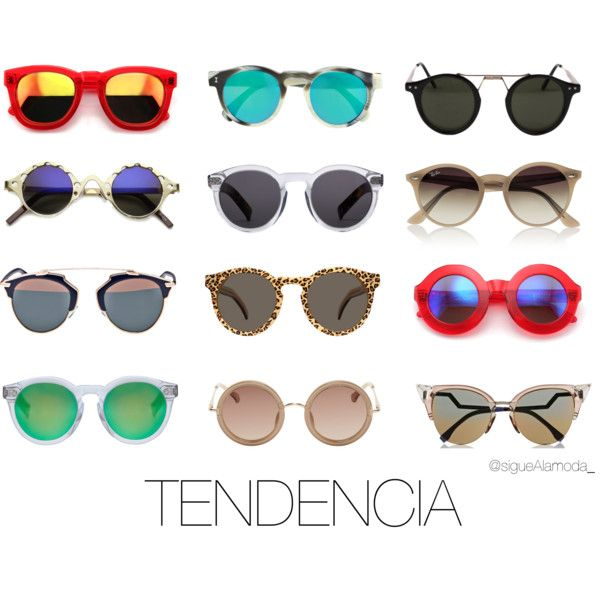 Tendencia Lentes by andreanava-1 on Polyvore featuring moda, The Row, Fendi, Christian Dior, Illesteva, Wildfox, J.Crew, Ray-Ban and Spitfire
