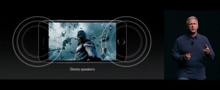 Apple iPhone 7: Kein Klinkeneingang, dafür Stereo-Lautsprecher - https://apfeleimer.de/2016/09/apple-iphone-7-kein-klinkeneingang-dafuer-stereo-lautsprecher - Das Apple iPhone 7 ist nun offiziell vorgestellt worden, die Einzelheiten sind dabei besonders interessant. Unter anderem hat Apple dem iPhone 7 und dem iPhone 7 Plus diverse Veränderungen in puncto Audio mit auf den Weg gegeben. Apple iPhone 7: Kein Klinkeneingang, dafür Lightning-Kopfhörer So a...