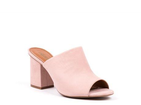 ZILIAN :: Sapatos de Senhora | Botas, botins, rasos ou salto alto :: NEW COLLECTION :: Mules em nobuck blush