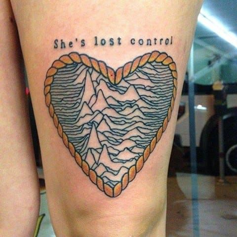 Bildergebnis für joy division tattoo