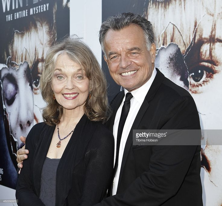 Grace Zabriskie and Ray Wise attend the 'Twin Peaks' BluRay/DVD release party and screening at...