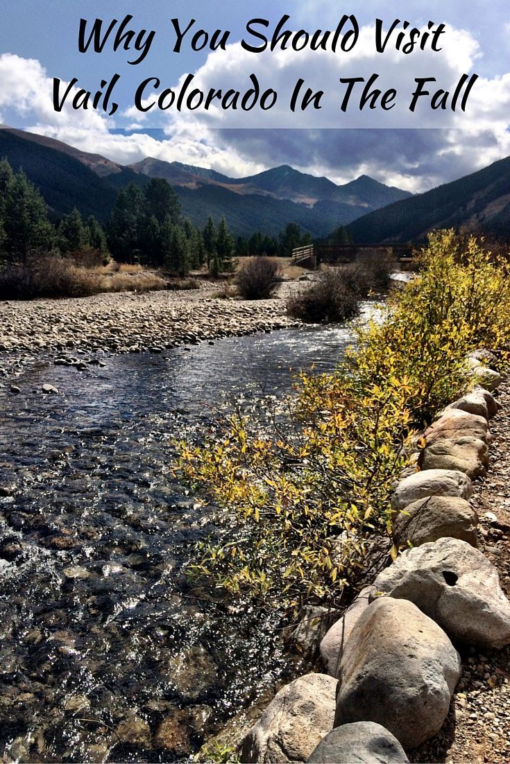 Visiting Vail, Colorado in the Fall is a perfect getaway. From the views to the village to the weather there are many reasons why to visit Vail in the Fall.