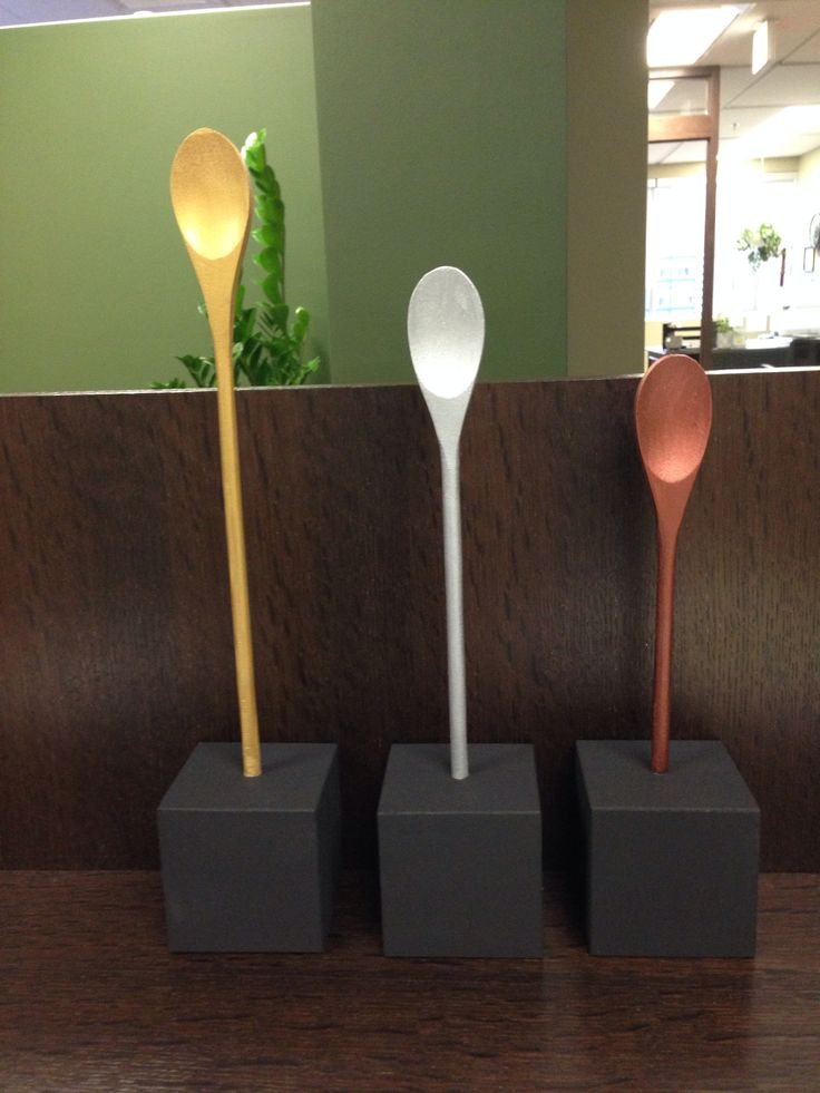 Trophies for chili cook off - just dip the handles so they can be used again?