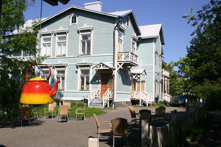 Café Sininen huvila, Töölönlahti, Helsinki
