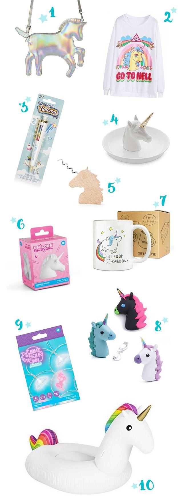10 Einhorn-Geschenkideen zu Weihnachten