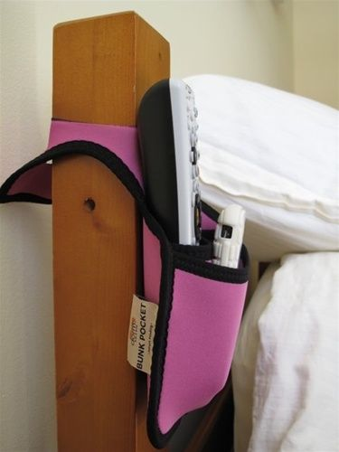 Bunk Pocket - College Dorm Room Supplies Essential Must Have College Bedding Accessory $6.94 dormco.com