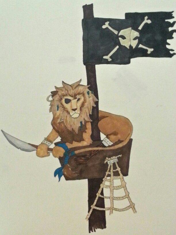 Pirate lion