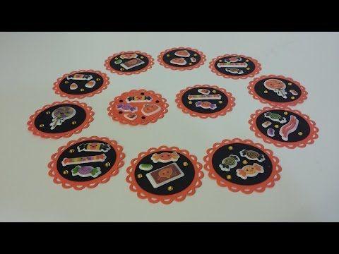 diy paper embellishments addiction halloween kawaii sweet treats youtube - Youtube Halloween Crafts