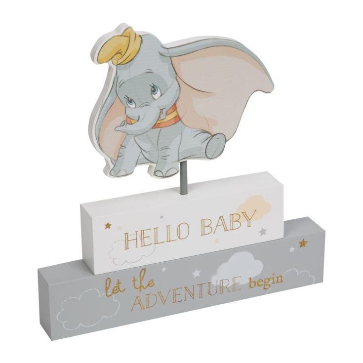 Disney Magical Beginnings Mantel Plaque Block Bambi