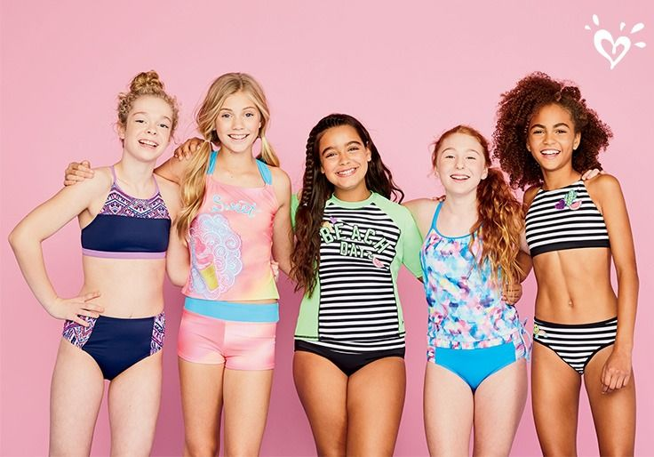 The Justice Beach Boutique: swimsuits for every body.