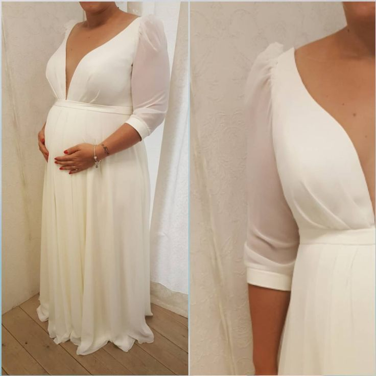 66 best maternity wedding dresses darius images on for Plus size maternity wedding dresses
