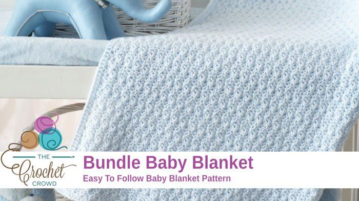 Crochet Baby Bundle Blanket Pattern Link To Pdf