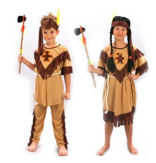 Детские дети мальчики девушки индийский платье принцессы костюм мальчик солдаты воин необычные платья новый