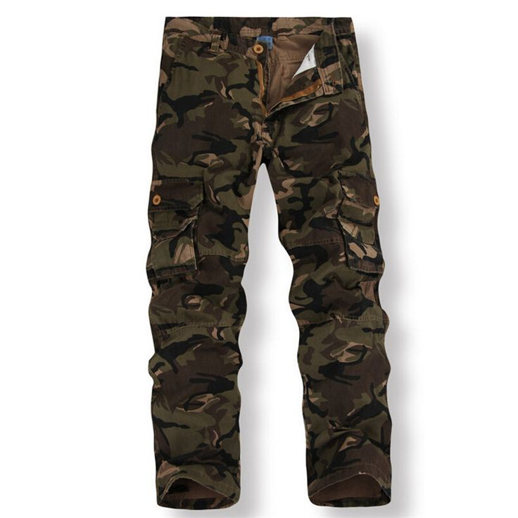 Купить камуфляжные брюки