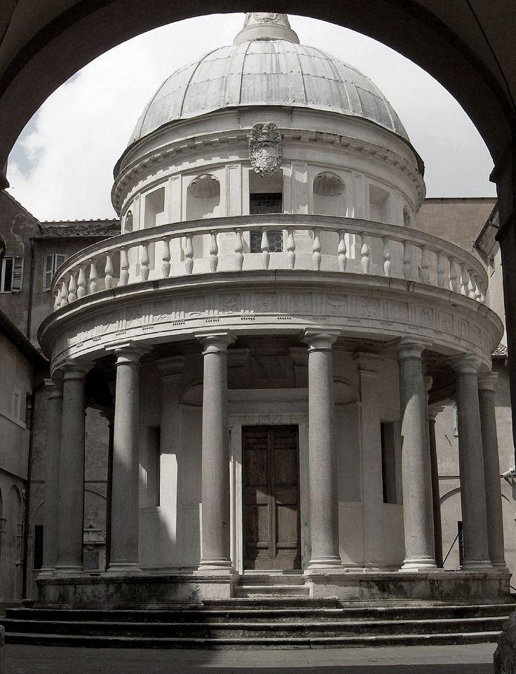 045 HIGH RENAISSANCE Bramante Tempietto San Pietro In Montorio Rome