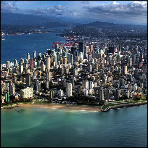 Vancouver , my ideal place to live !