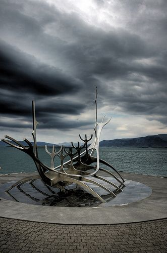 Reykjavik harbour  :: Reykjavik, Iceland.  By Manυ.  It never got dark when I visited.