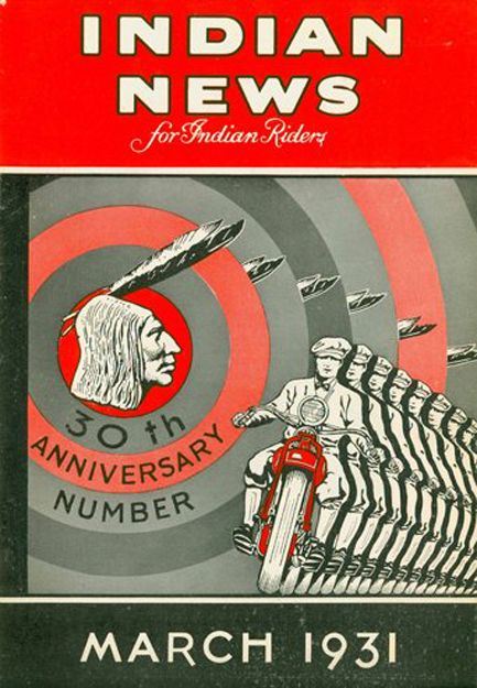 Indian News 1931 Motorcycle Publication