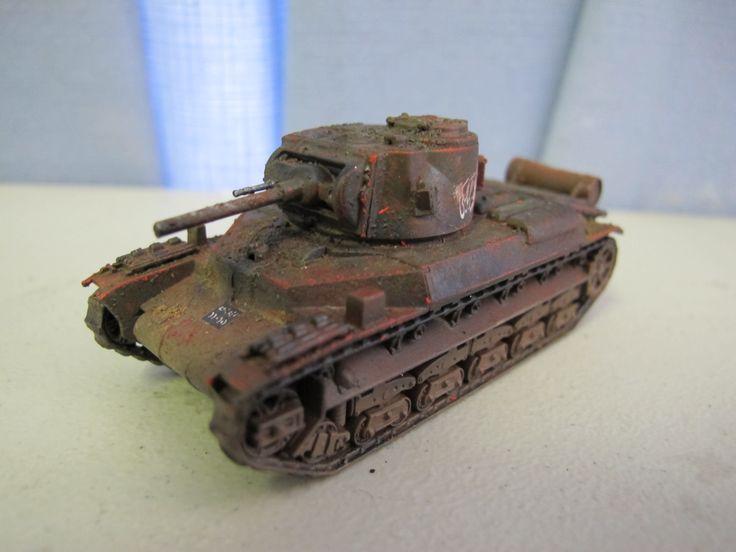 S-model 1:72 Matelda II