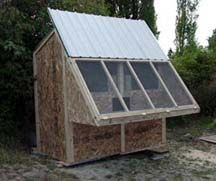 Red Rose Lofts - starter pigeon loft designs - we used this link for design