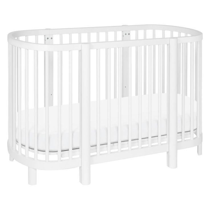 Babyletto Hula 2-in1 Convertible Oval Crib - M13001W