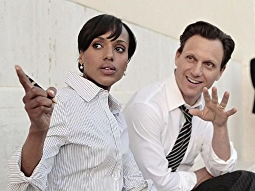 olivia and fitz - so cute working together