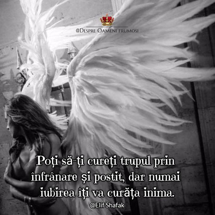 Adevărata murdărie este cea lăuntrică.Cealaltă se spală.   Un singur soi de murdărie nu poate fi curățat cu apă limpede iar acela e urma urii și a patimii care-ți întinează sufletul.   Poți să-ți cureți trupul prin înfrânare și postit dar numai iubirea îți va curăța inima. ___________ The most beautiful posts / Cele mai frumoase postări   Despre Oameni frumosi  - sursa ta de liniște și frumos   http://ift.tt/2xyywKb  - arhiva cu peste 400 de postări... una mai frumoasă ca alta!