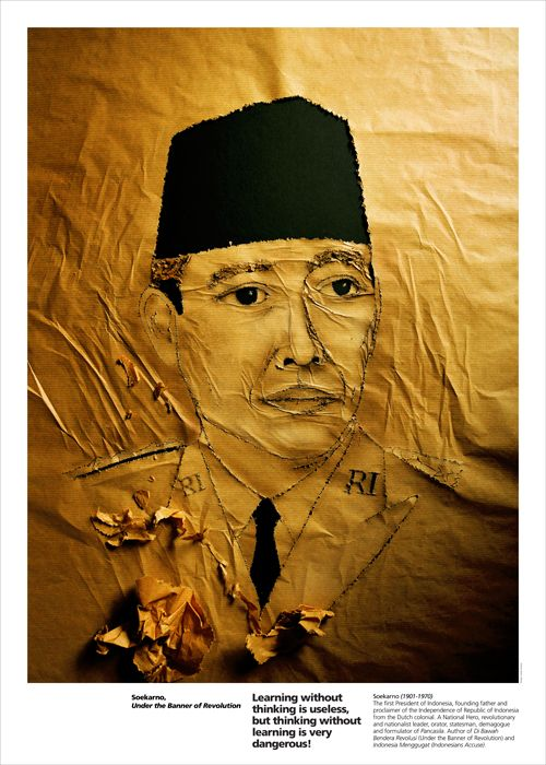 Sandy Karman, Soekarno Under the Banner of Revolution