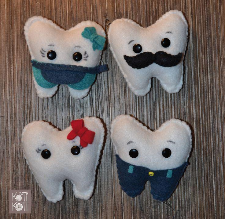 Muelitas para dientes niños, hecho a mano
