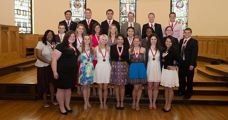 Miami University President's Distinguished Service Award recipients. - May 2014