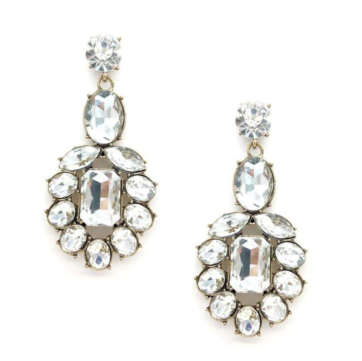 Sieraden - Oorbellen - Bruid - Bruidsoorbellen - Oorbellen bruid - Bridal jewellery - Crystal earrings -  crystals - Zilveren oorbellen - Silver earring - Bohemian earrings - Oorbellen Bohemian - Oorbellen vintage - Oorbellen Ibiza