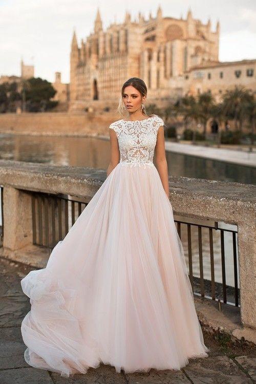 1ce9556d5b Naviblue Bridal Jeffry 17346 Modest Wedding Dresses