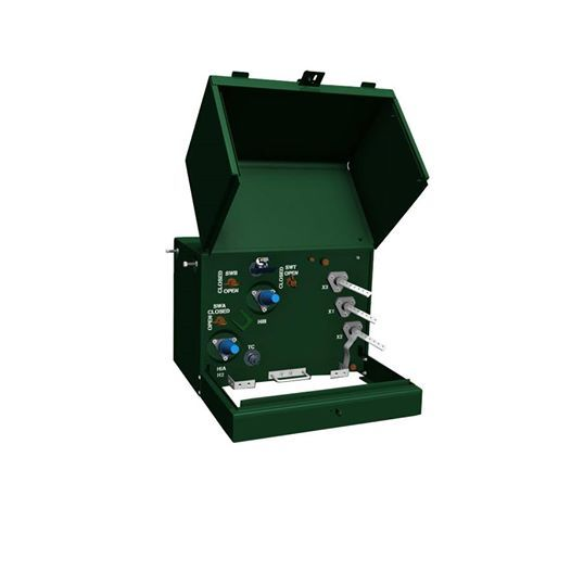 Farady padmount transformer or pad-mounted transformer is a ground mounted electric power distribution transformer http://www.distribution-transformer.com/padmount-transformer/three-phase-pad-mounted-transformer.html