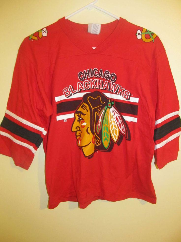 Vintage Blackhawks Shirt 83