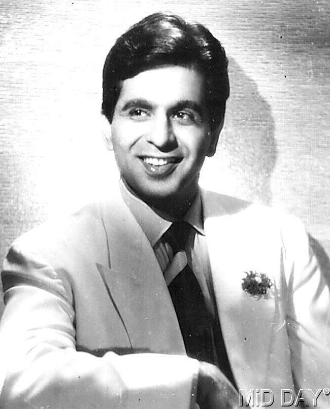 "Dilip Kumar ""Being Handsome"""