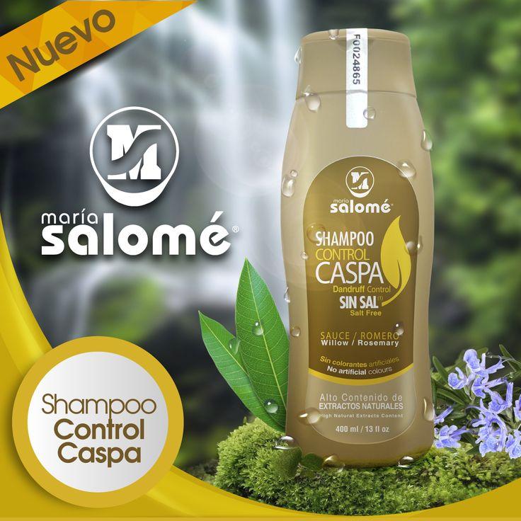 Si sufres de caspa y caída del cabello, lo mejor que puedes hacer es usar el Shampoo Control Caspa Sin Sal. Un producto creado con base en extractos naturales que limpian y fortalecen tu cabello.