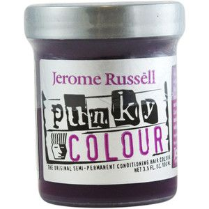 Jerome Russell Punky Colour Purple Hair Dye (I want Plum)