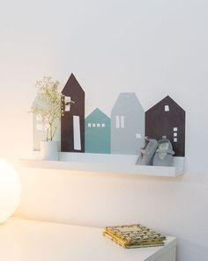 Ideal Babyzimmer gestalten Wandtattoo f r IKEA RIBBA Babyzimmer gestalten mit Wandtattoo Lille Hus passend f r IKEA RIBBA MOSSLANDA Bilderleiste T rkis