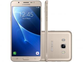 """Smartphone Samsung Galaxy J7 Metal 16GB Dourado - Dual Chip 4G Câm 13MP + Selfie 5MP Flash Tela 5,5"""" SEMANA DO CONSUMIDOR , COM PREÇOS IMPERDÍVEL !! ( 30% DE DESCONTO) Smartphone Samsung Galaxy J7 Metal 16GB Dourado - Dual Chip 4G Câm 13MP + Selfie 5MP Flash Tela 5,5"""" APENAS R$ 1.199,90  em até 10x de R$ 119,99 sem juros no cartão de crédito  ou R$ 1.079,91 à vista (10% Desc. já calculado.)"""